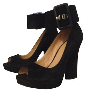 Nine West Blk Platforms