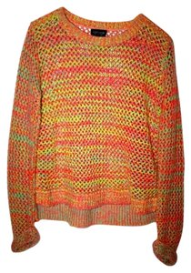 Topshop Colorful Fun Bright Sweater