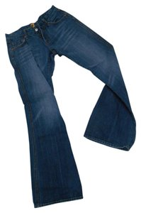 7 For All Mankind 28 Flare Leg Jeans-Distressed