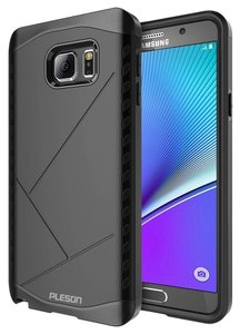 Pleson Pleson Galaxy Note 5 Case - Dual Layer Hybrid Protective Bumper Case [Shock-absorption]