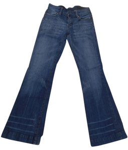 Citizens of Humanity Pants Designer 27 Flare Leg Jeans-Distressed