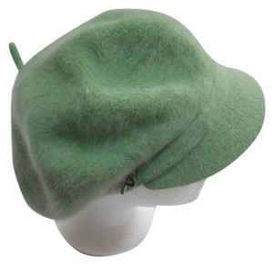 Betmar Angora Soft Sage Cap with Brim