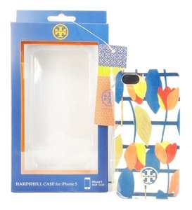Tory Burch Tory Burch Hardshell Case Iphone 5 Multi Color Tulips Tapioca Floral NEW IN BOX