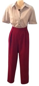Dior Trouser Pants Red