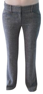 New York & Company Wear To Work Trouser Trouser Pants Brown Tweed