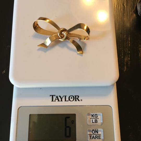 Other 14kt Gold Bow Brooch