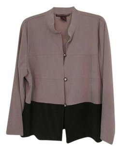 DGI Taupe/ black bottom Blazer