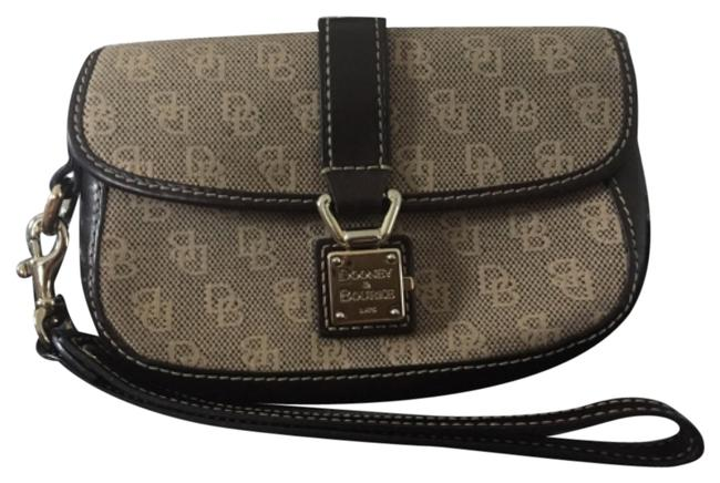 Dooney & Bourke Brown And Wallet Dooney & Bourke Brown And Wallet Image 1