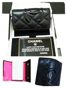 Chanel Cambon Coco Key Key Case black Clutch