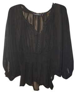 Doe & Rae Top black