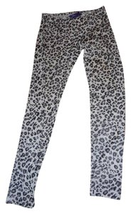 Miley Cyrus & Max Azria snow leopard print Leggings