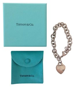 Tiffany & Co. Tiffany and Co Heart Tag Charm Bracelet