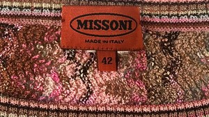 Missoni Striped Knit Longsleeve Like New Sweater
