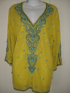 Boston Proper Beaded Tunic
