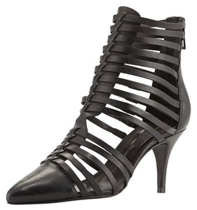 SCHUTZ Brand New Leather Strappy Gladiator Black Boots