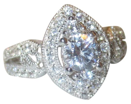 Preload https://img-static.tradesy.com/item/6289222/clear-genuine-sterling-silver-marquise-shaped-halo-cz-with-cz-accents-split-shank-band-size-9-ring-0-1-540-540.jpg