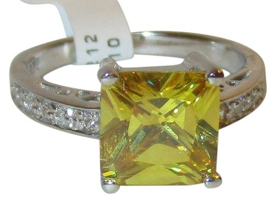 Preload https://img-static.tradesy.com/item/6289549/citrine-genuine-sterling-silver-princess-cut-8mm-white-sapphire-accents-size-5-6-7-8-9-10-ring-0-0-540-540.jpg
