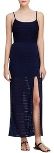 Navy and Black Maxi Dress by Aqua Maxi - item med img