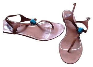 Dolce Vita Isolde Tan Leather Sandals
