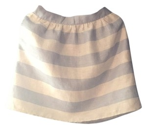 Kenar Mini Skirt Light blue, white