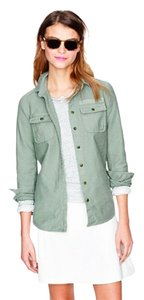 J.Crew Button Down Shirt Military green
