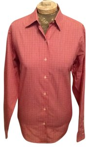 Brooks Brothers Pink Button Down Shirt Pink/Light Red