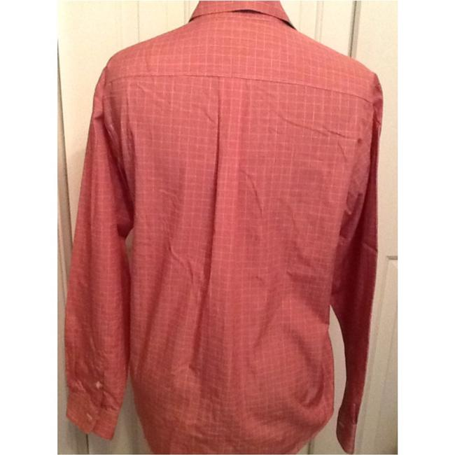 Brooks Brothers Button Down Shirt Pink/Light Red