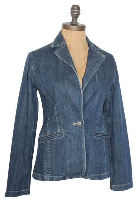 Preload https://img-static.tradesy.com/item/6292249/ann-taylor-blue-blazer-denim-jacket-size-0-xs-0-1-650-650.jpg