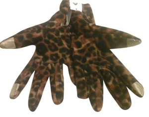 Old Navy NWT Old Navy Women's Performance Fleece Tech Gloves -Animal Print