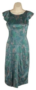Marc by Marc Jacobs short dress teal Tiered Empire Waist on Tradesy