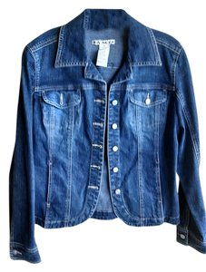 Ami Stonewashed Womens Jean Jacket