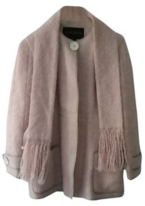 Louis Vuitton pale pink mohair Jacket