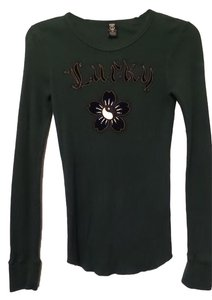 Lucky Brand Thermal Embroidered Asian Like New Sweater