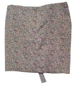J. Jill Skirt Off White/Cream Pattern