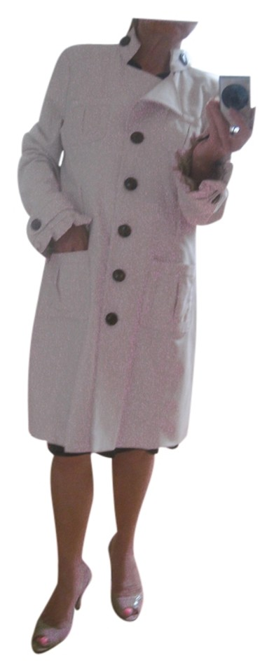be4c8cd4e4e5 Sugarfly Off White Coat Size 12 (L) - Tradesy
