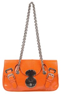 Ralph Lauren Lizard Chain Shoulder Bag