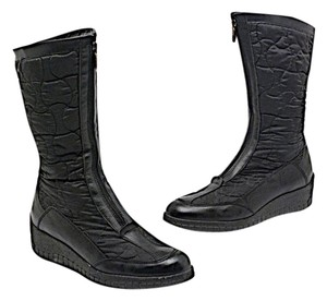 Aquatalia by Marvin K. Waterproof Winter Black Boots