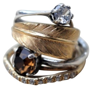 IOSSELLIANI Iosselliani Stack Feather Ring