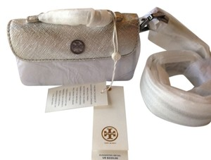 Tory Burch TORY BURCH NWT ROBINSON METALLIC WAIST PACK BELT
