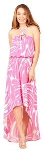 Pink Maxi Dress by Tori Richard