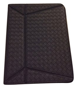 Bottega Veneta Bottega Veneta Intrecciato Navy Leather iPad Case