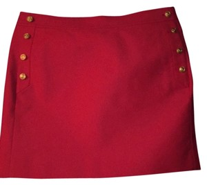 J.Crew Mini Skirt Fushia