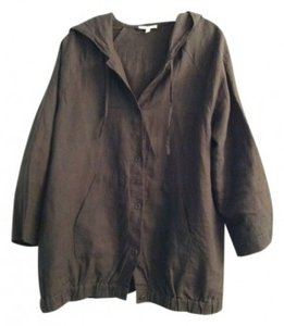 Eileen Fisher Taupe Brown Jacket