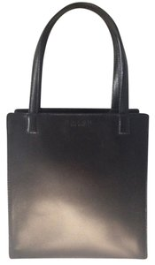 Coach Leather Bleecker Tote in Black