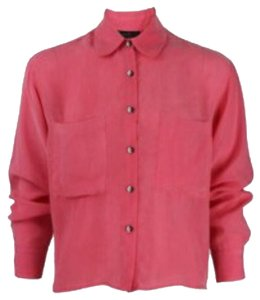 Kelly Wearstler Button Down Shirt Coral