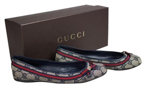 Gucci Blue Flats