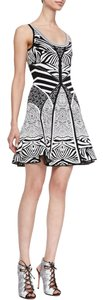 Diane von Furstenberg short dress Zebra on Tradesy