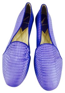 Brian Atwood Blue Flats
