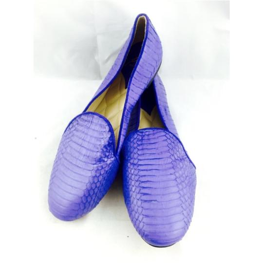 Brian Atwood Blue Flats Image 1