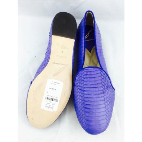 Brian Atwood Blue Flats Image 2